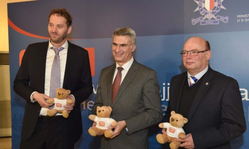 Minister For Home Affairs And National Security Carmelo Abela Launches The Amber Alert System In Malta, Where Malta Will Be Joining The European Child Rescue Alert Platform